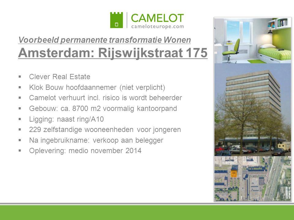 Voorbeeld permanente transformatie Wonen Amsterdam: Rijswijkstraat 175