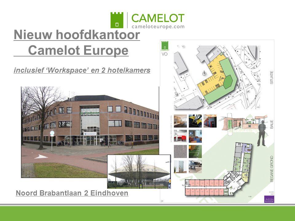 Nieuw hoofdkantoor Camelot Europe