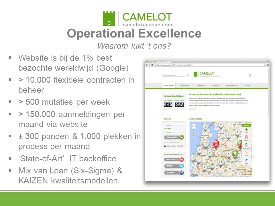 Operational Excellence Waarom lukt 't ons