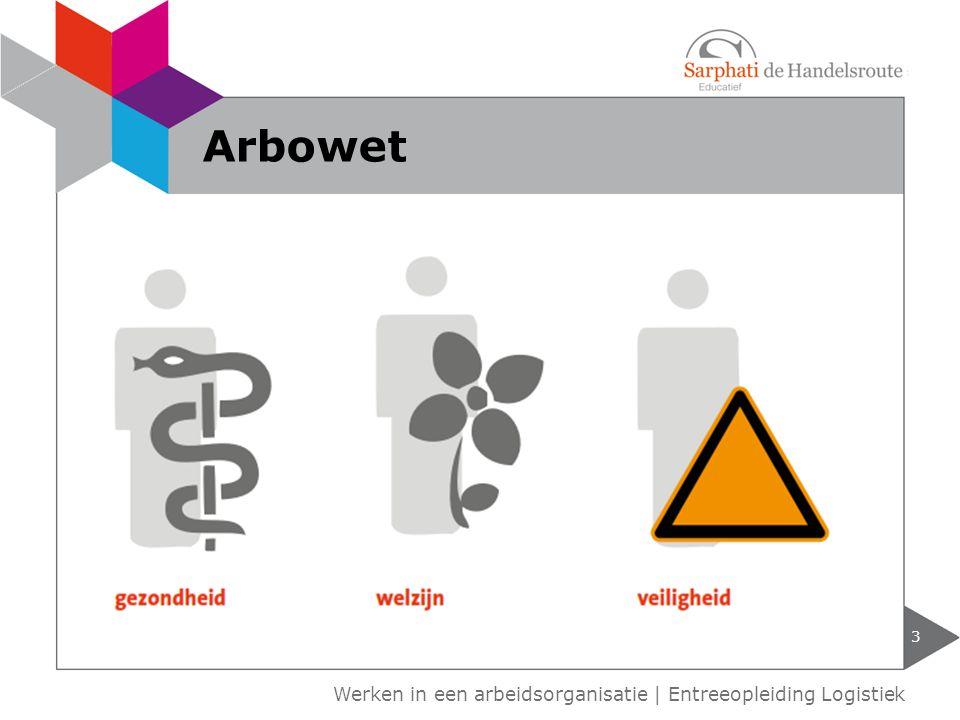 Arbowet Werken in een arbeidsorganisatie   Entreeopleiding Logistiek