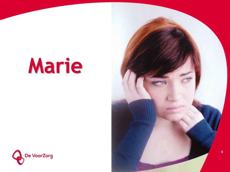 Marie Marie 32 jaar Werkt 7 jaar als loketbediende