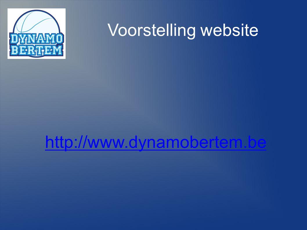 22 Voorstelling website http://www.dynamobertem.be