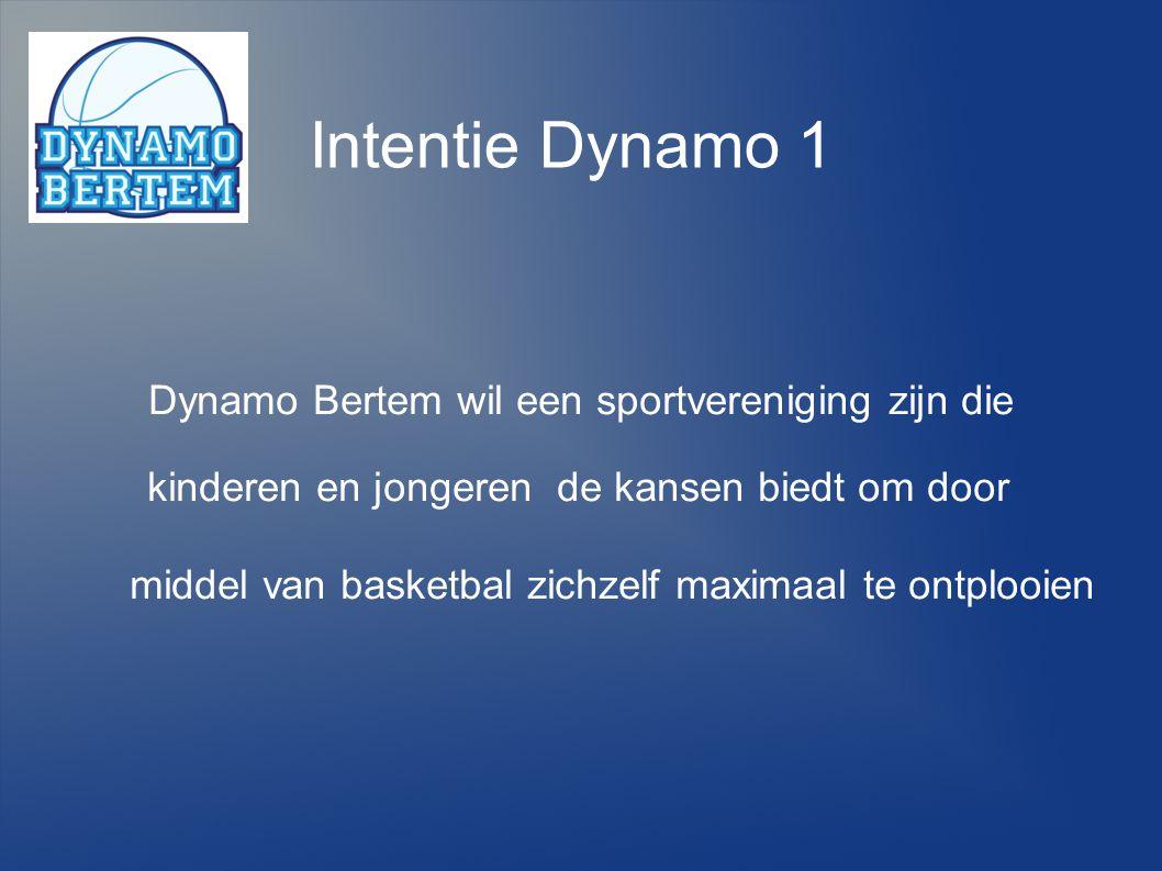 Dynamo Bertem wil een sportvereniging zijn die