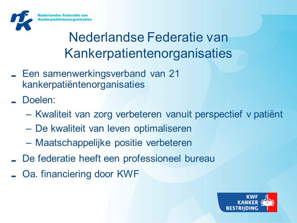 Nederlandse Federatie van Kankerpatientenorganisaties