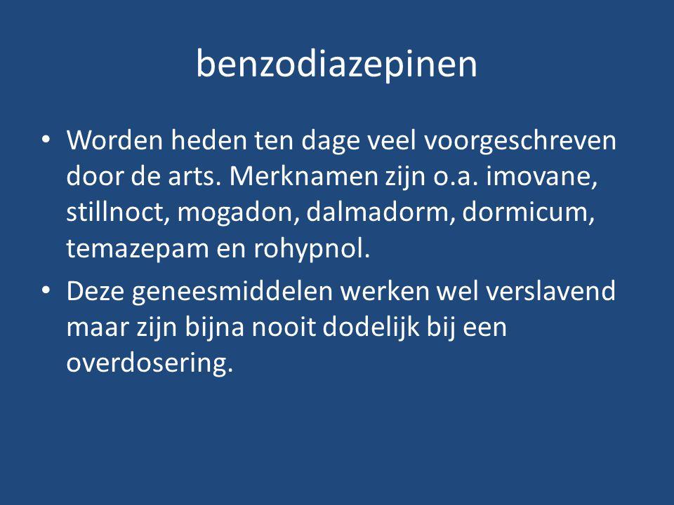 benzodiazepinen