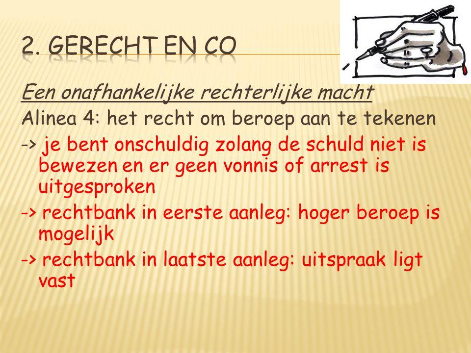 2. Gerecht en co