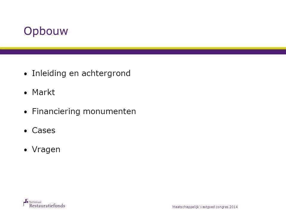 Inleiding Instandhouding Nederlandse monumenten;