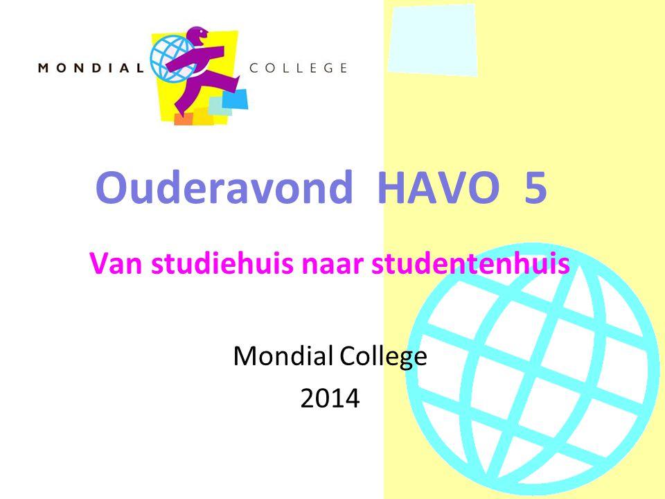 Van studiehuis naar studentenhuis Mondial College 2014