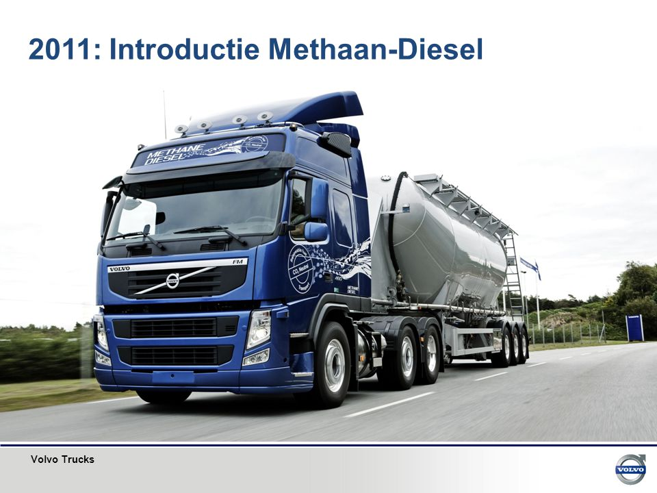 2011: Introductie Methaan-Diesel