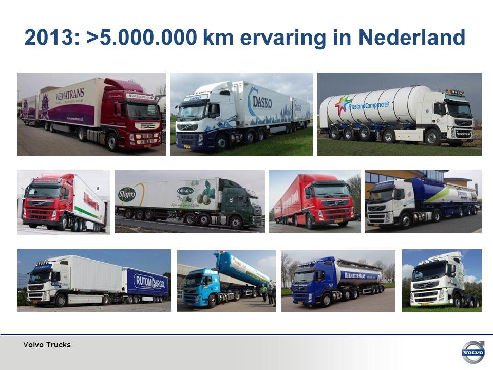 2013: >5.000.000 km ervaring in Nederland