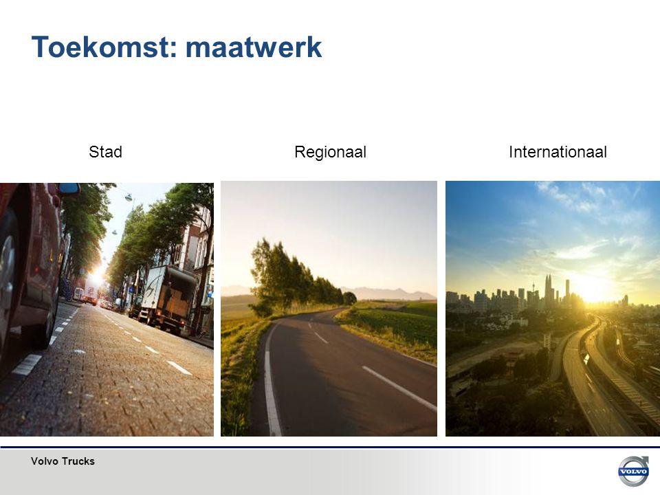Toekomst: maatwerk Stad Regionaal Internationaal