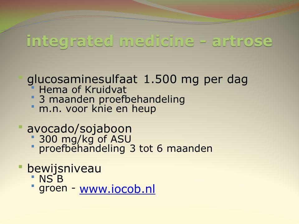 integrated medicine - artrose