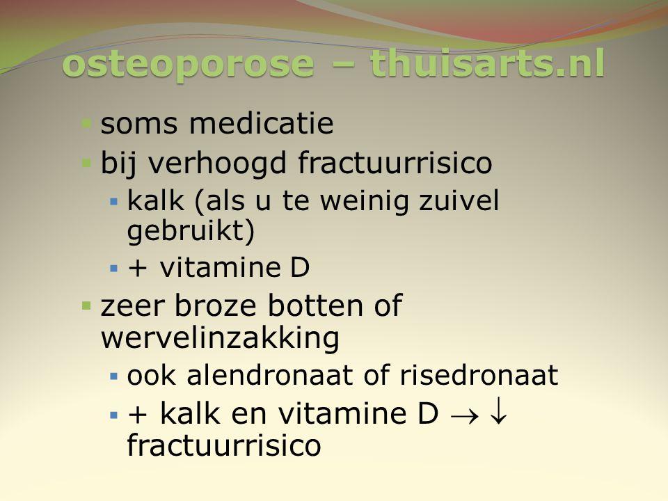 osteoporose – thuisarts.nl