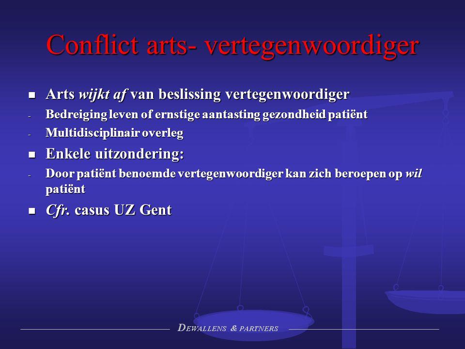 Conflict arts- vertegenwoordiger