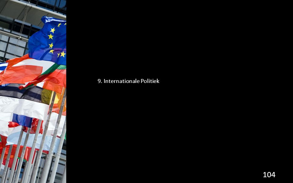 9. Internationale Politiek