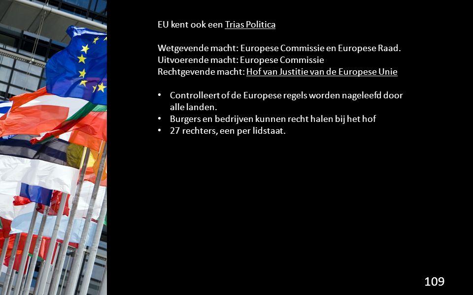 EU kent ook een Trias Politica