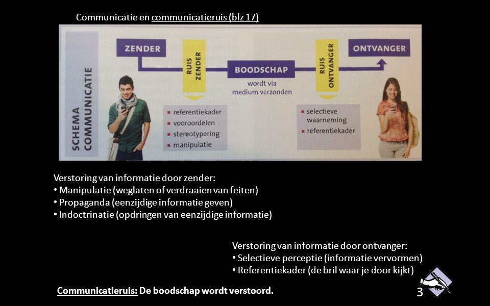 Communicatie en communicatieruis (blz 17)