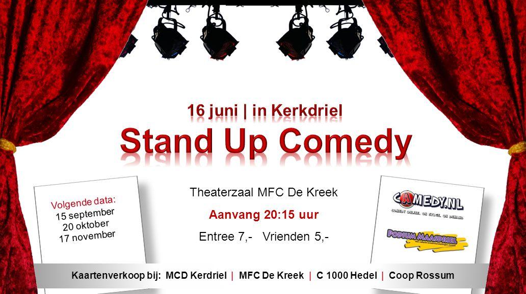 Theaterzaal MFC De Kreek