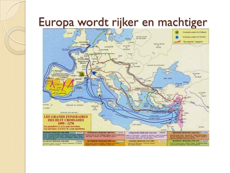 Europa wordt rijker en machtiger