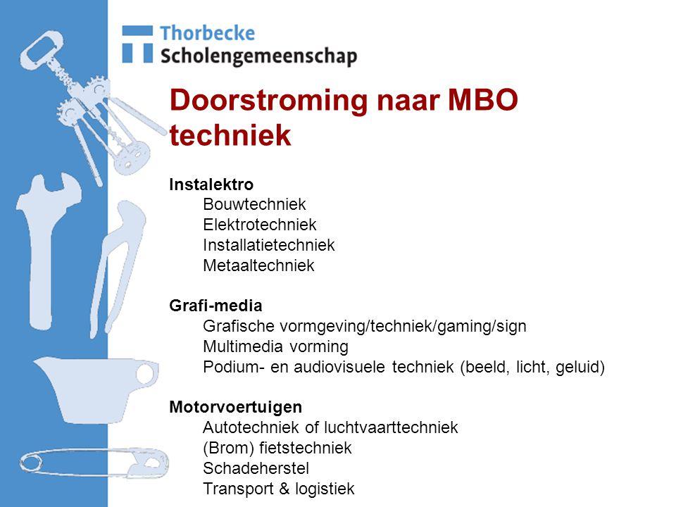 Doorstroming naar MBO techniek