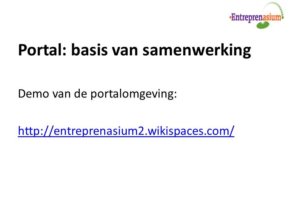 Portal: basis van samenwerking
