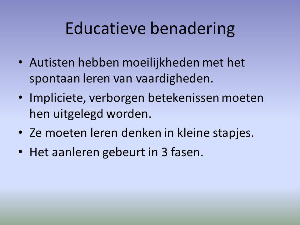 Educatieve benadering