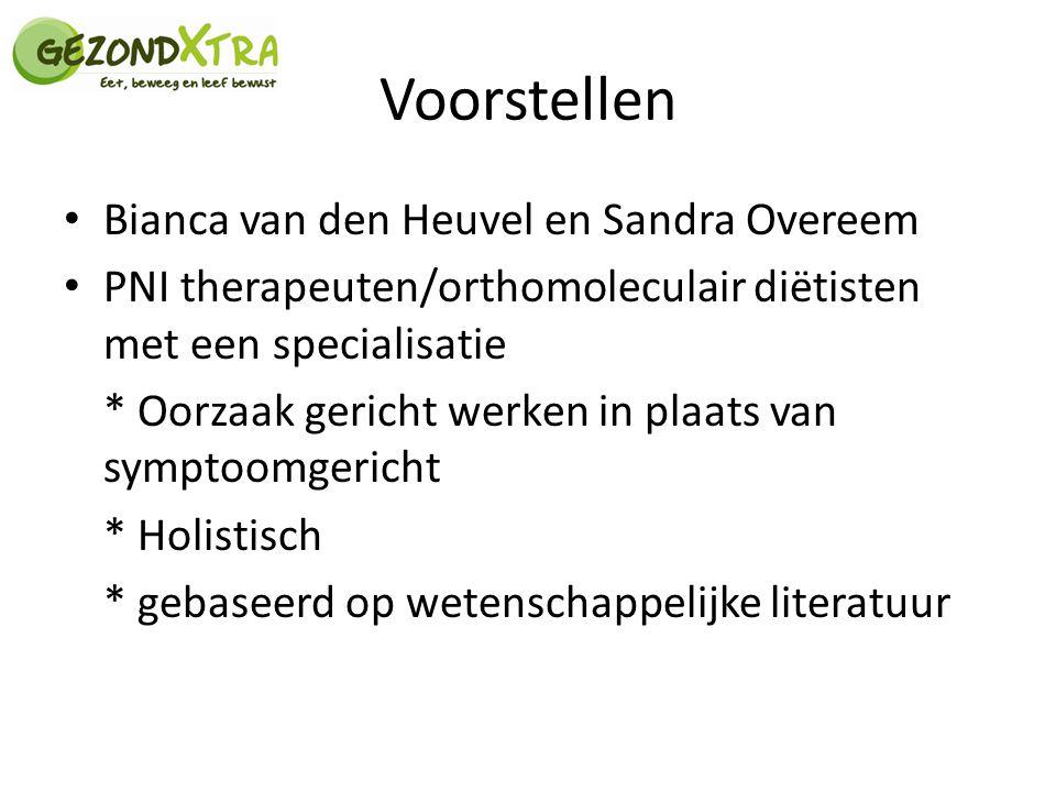 Voorstellen Bianca van den Heuvel en Sandra Overeem