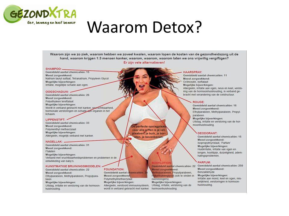 Waarom Detox