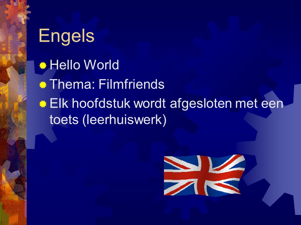 Engels Hello World Thema: Filmfriends
