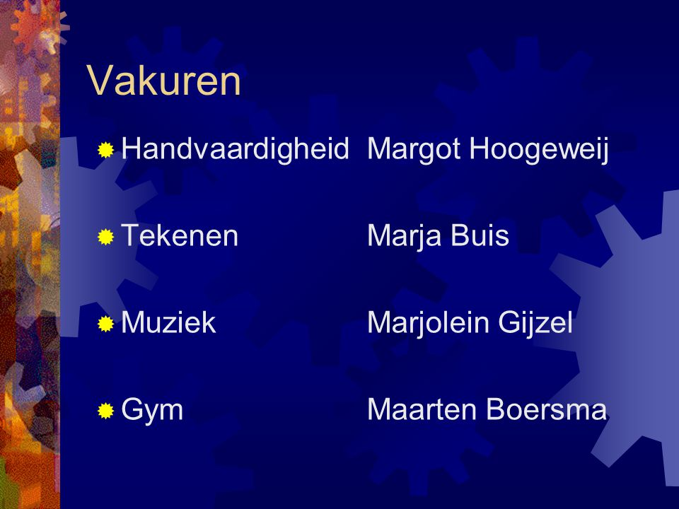 Vakuren Handvaardigheid Margot Hoogeweij Tekenen Marja Buis