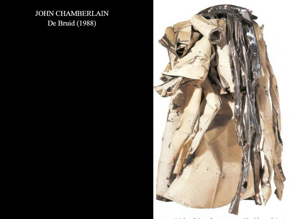 JOHN CHAMBERLAIN De Bruid (1988)