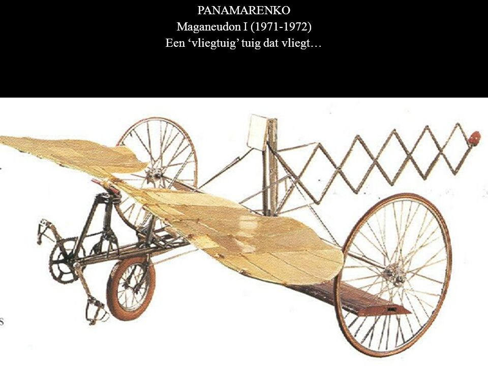 Een 'vliegtuig' tuig dat vliegt…