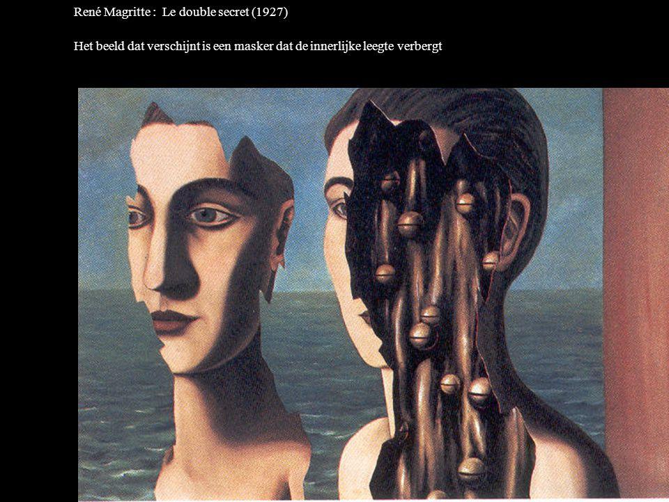 René Magritte : Le double secret (1927)