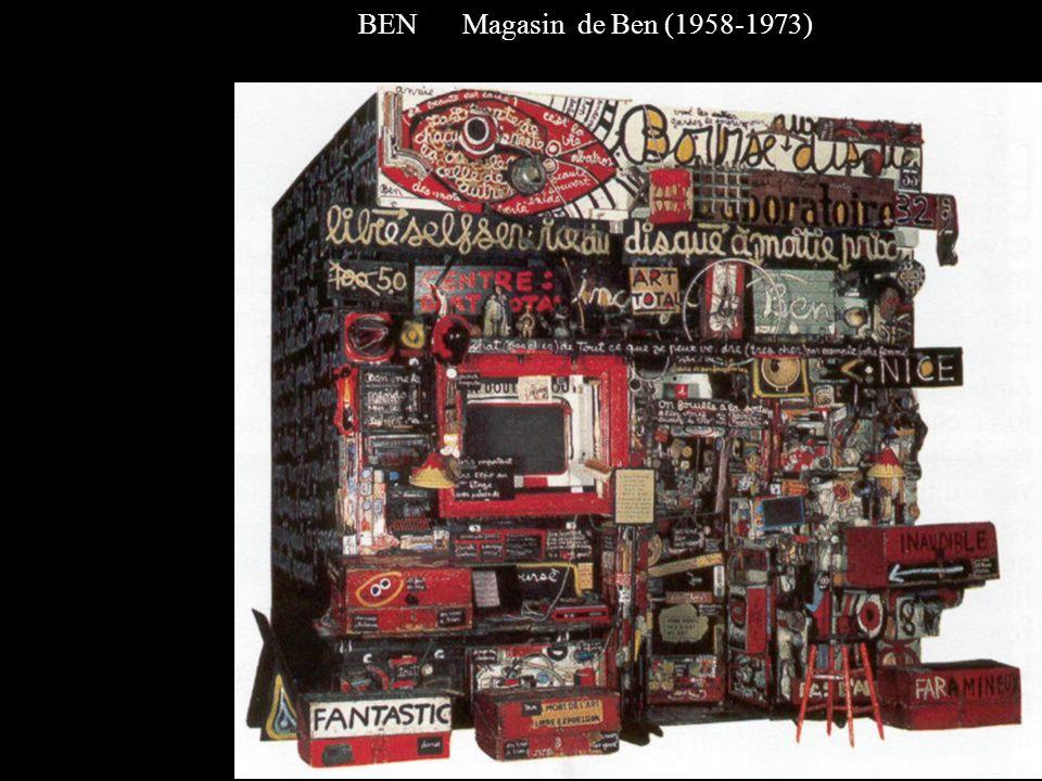 BEN Magasin de Ben (1958-1973)