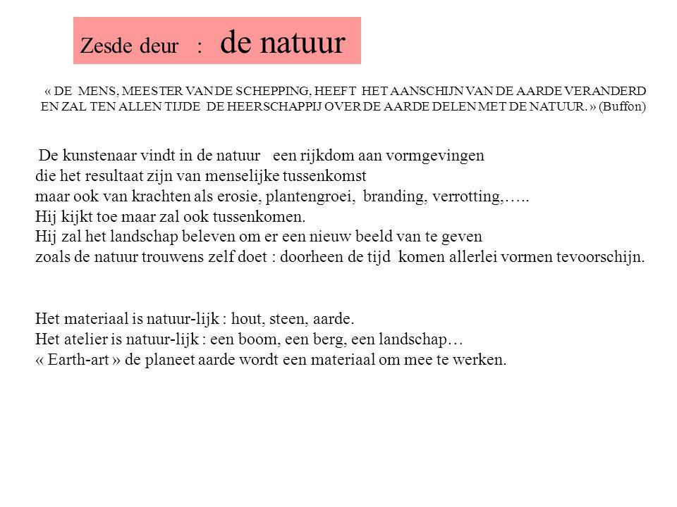 Zesde deur : de natuur