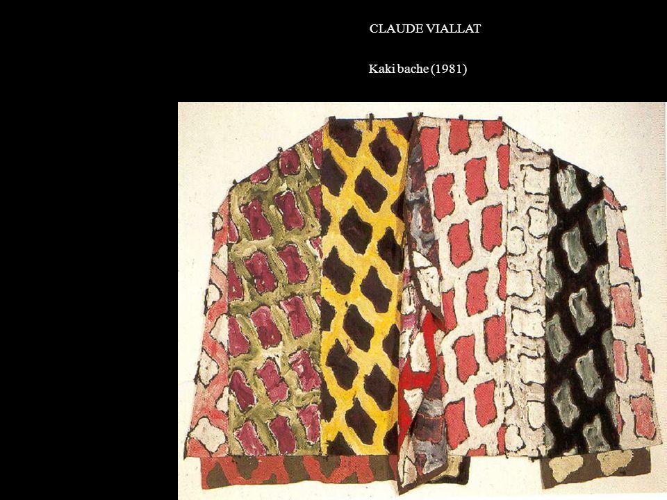 CLAUDE VIALLAT Kaki bache (1981)K