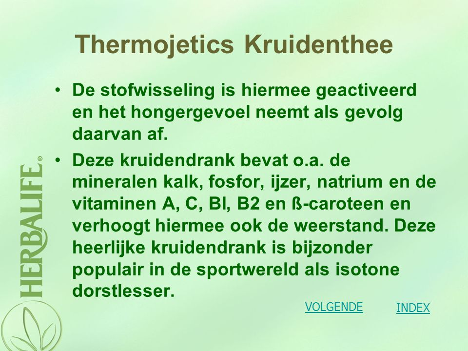 Thermojetics Kruidenthee