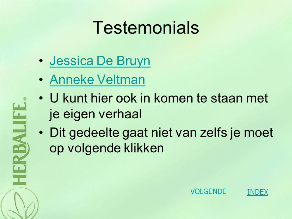 Testemonials Jessica De Bruyn Anneke Veltman