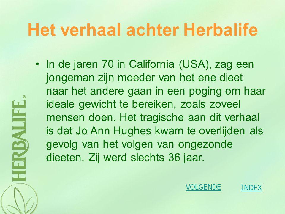 Het verhaal achter Herbalife