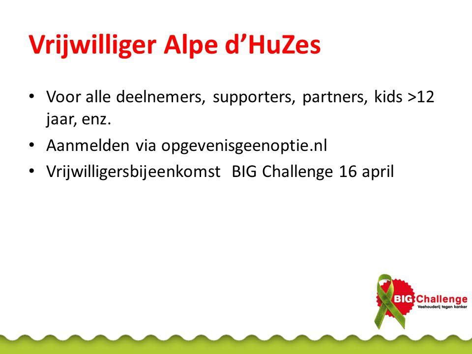Vrijwilliger Alpe d'HuZes