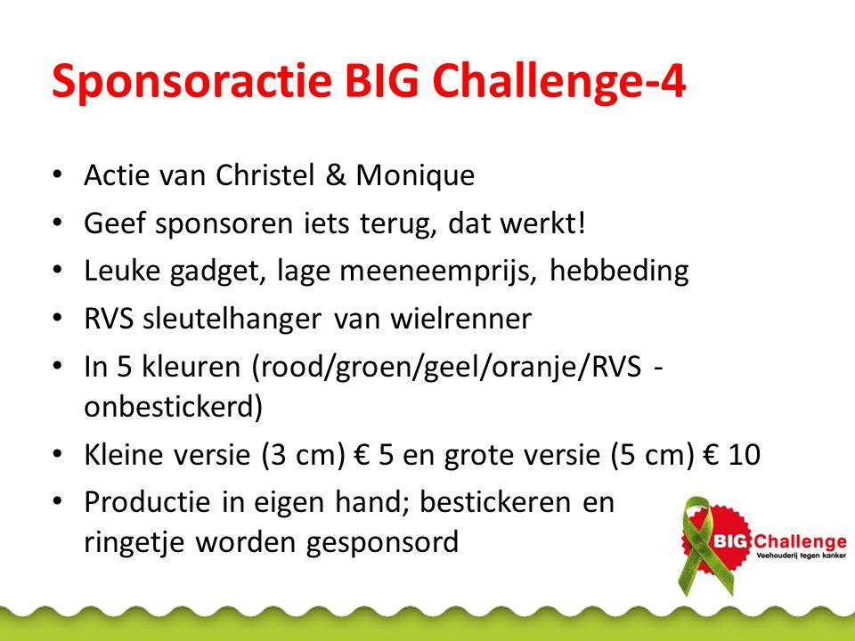 Sponsoractie BIG Challenge-4