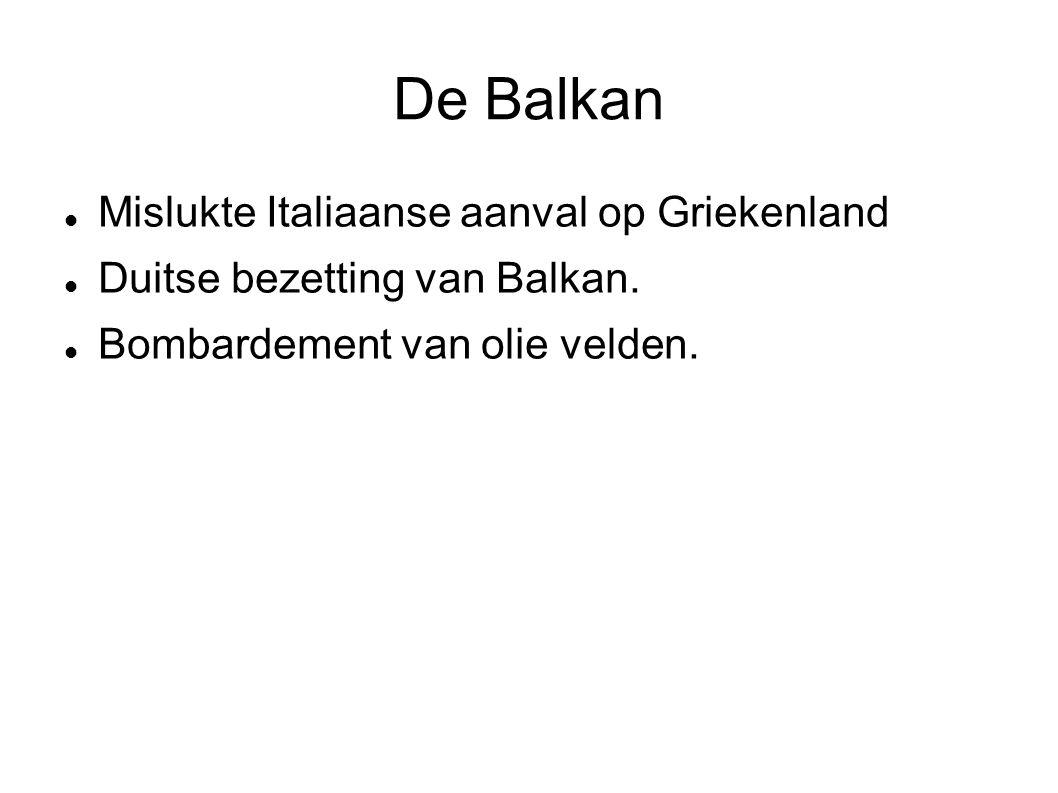 De Balkan Mislukte Italiaanse aanval op Griekenland