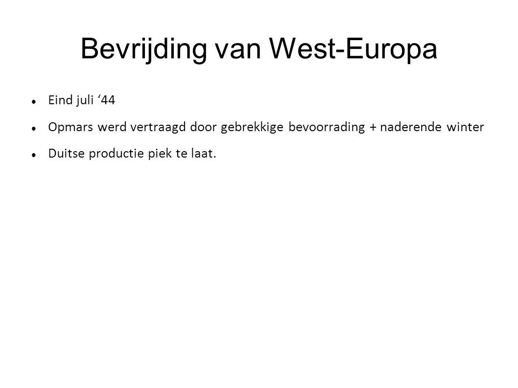 Bevrijding van West-Europa