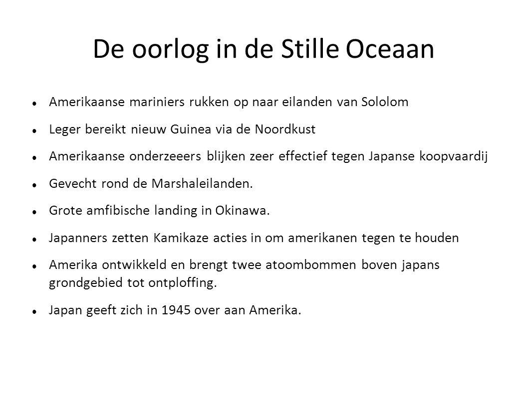 De oorlog in de Stille Oceaan