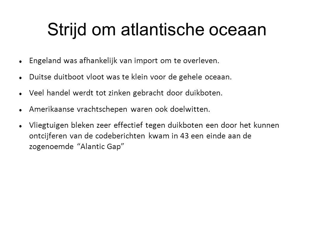 Strijd om atlantische oceaan