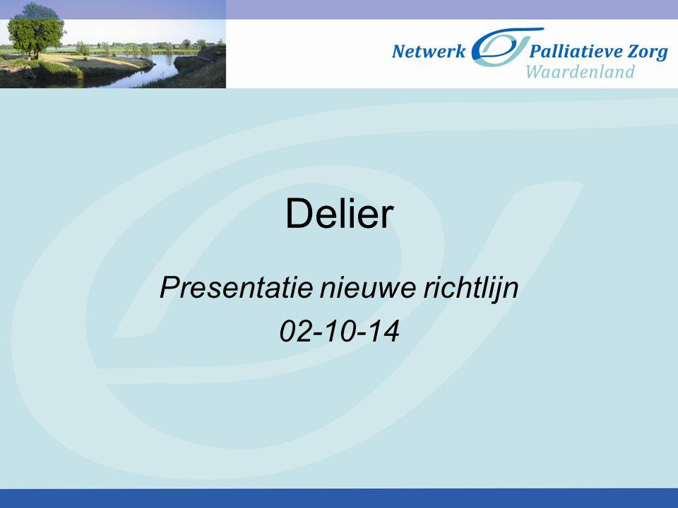 Presentatie nieuwe richtlijn 02-10-14
