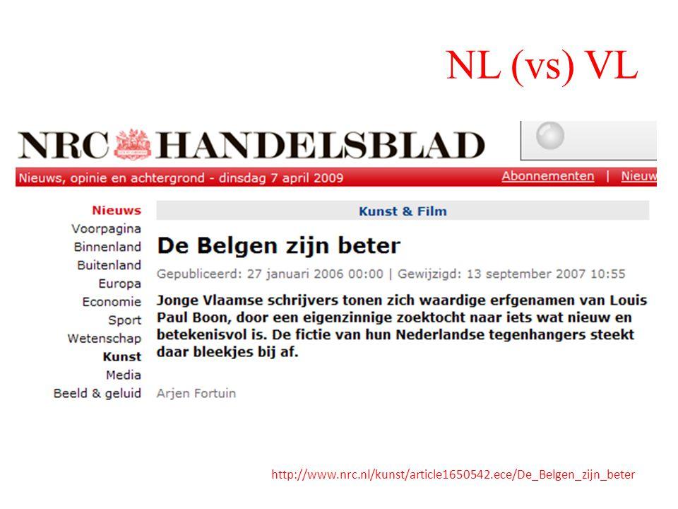 NL (vs) VL http://www.nrc.nl/kunst/article1650542.ece/De_Belgen_zijn_beter