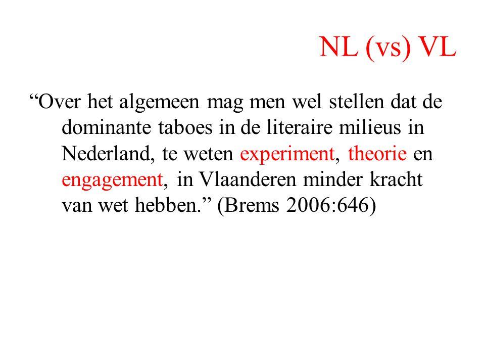 NL (vs) VL