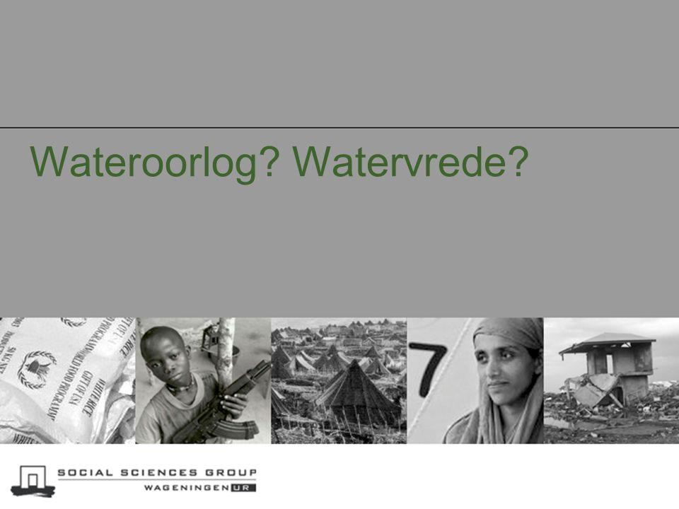 Wateroorlog Watervrede