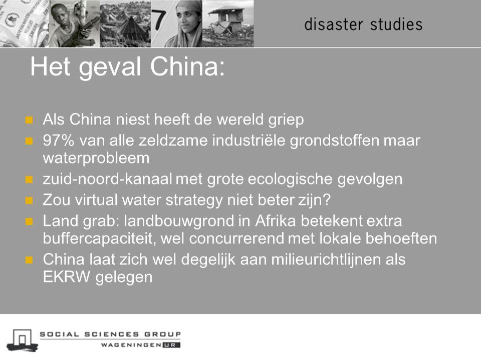 Het geval China: Als China niest heeft de wereld griep